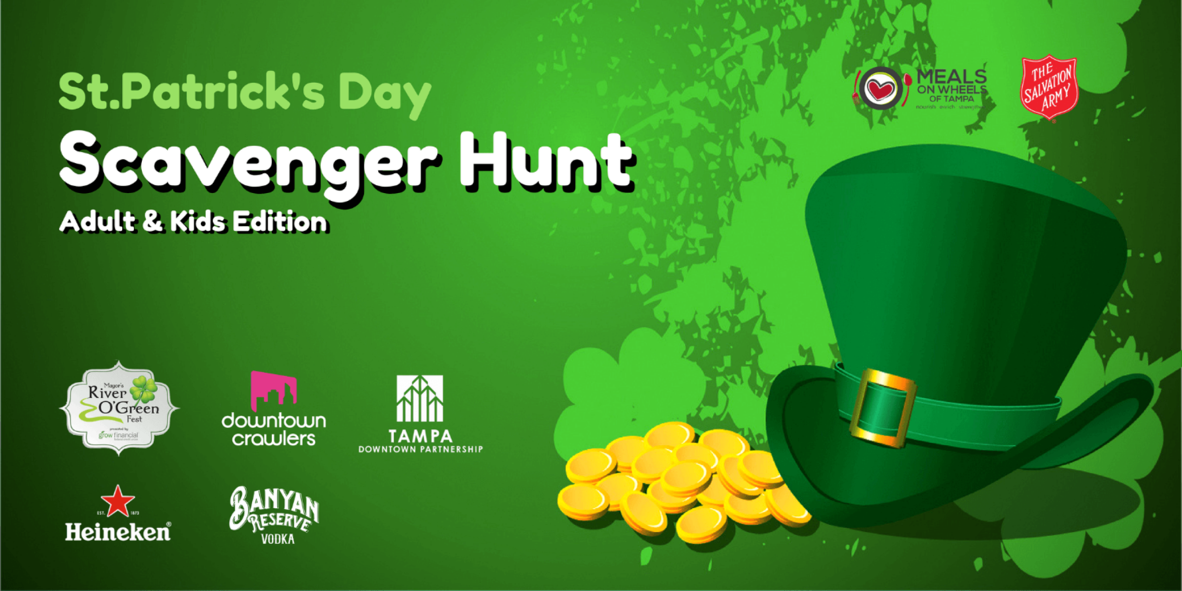 St.Patrick's Day Scavenger Hunt (Adult Edition)