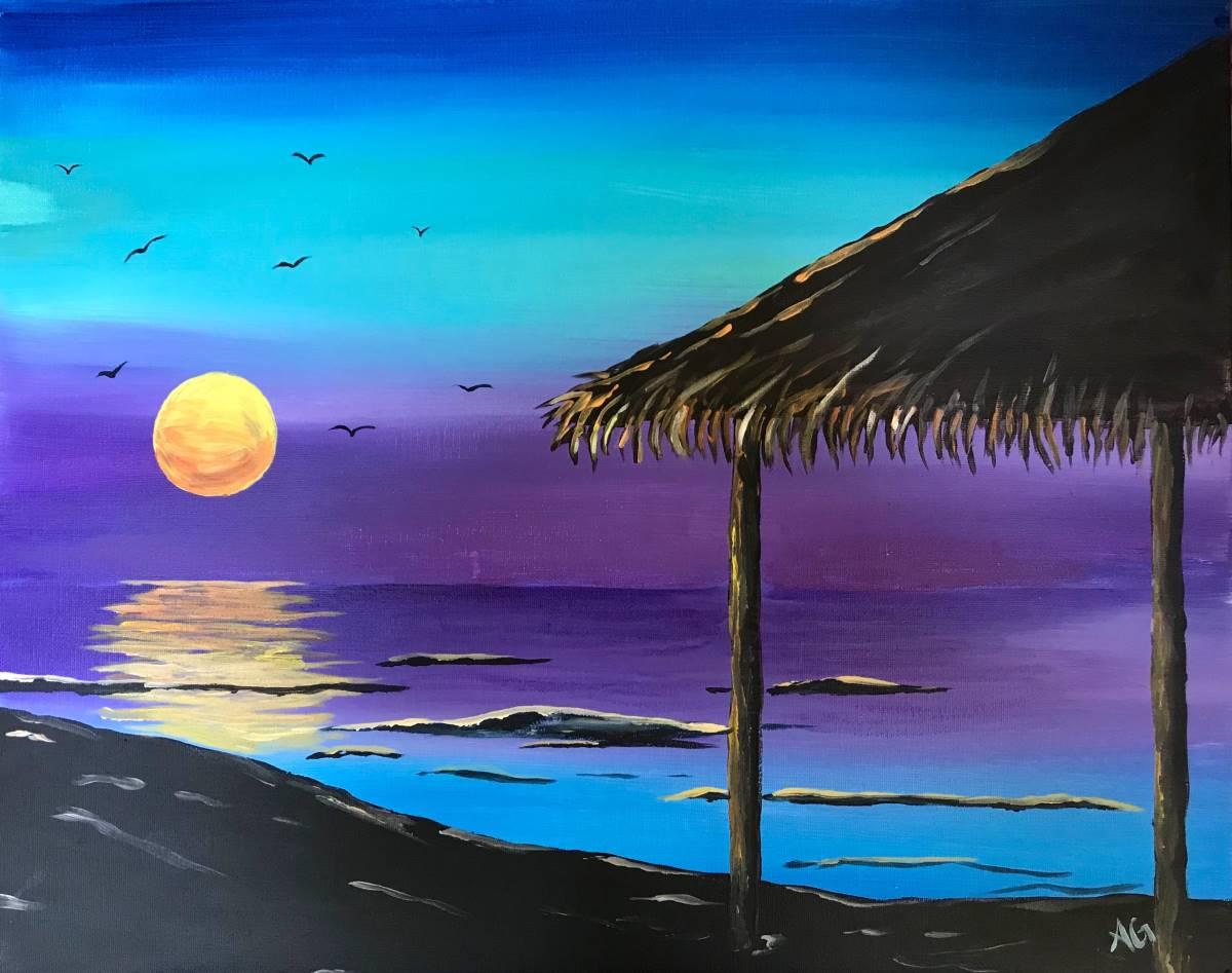 Wine & Canvas Painting Class: Wind 'n' Sea La Jolla