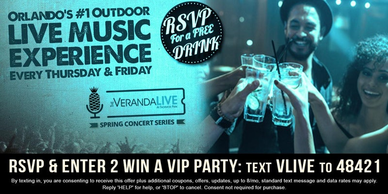 Veranda Live Spring Concert Series Featuring Curtains & Lake Highland