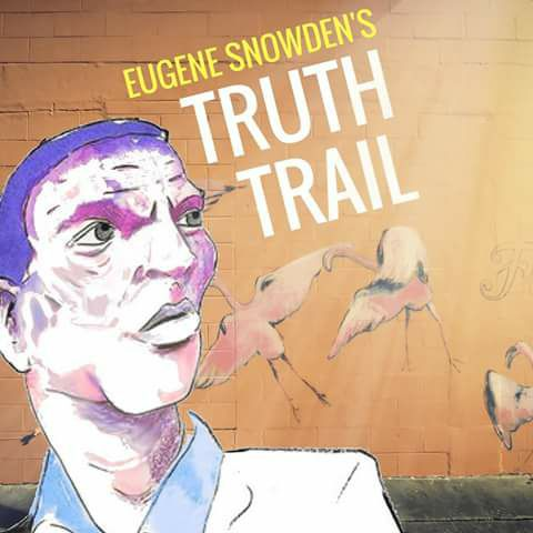 Eugene Snowden and his Truth Trail Trompers at Roque Pub