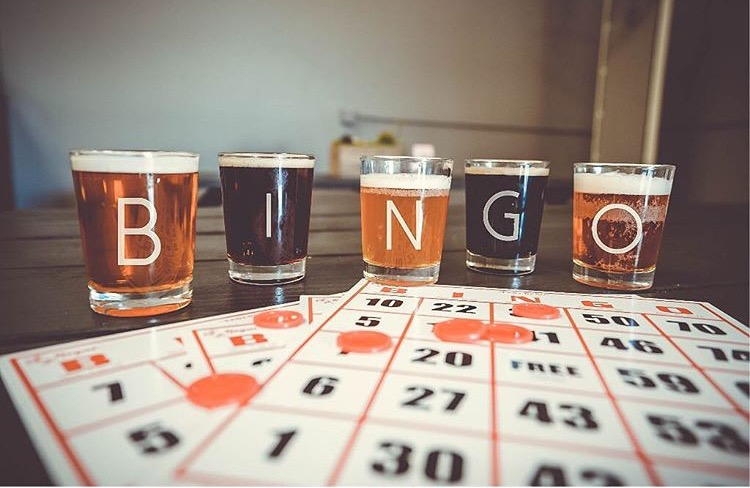 Wednesday Night Bingo & Burgers!