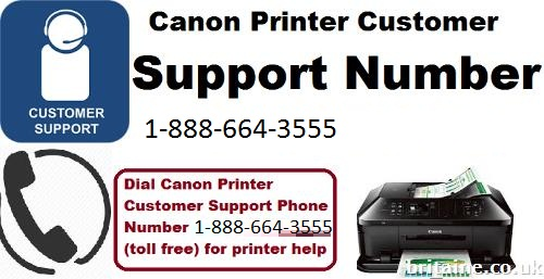 canon printer customer service number 1-888-664-3555