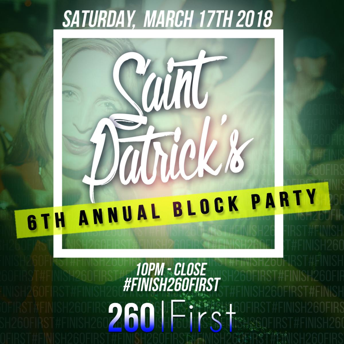 St. Patrick's 6th Annual Block Party