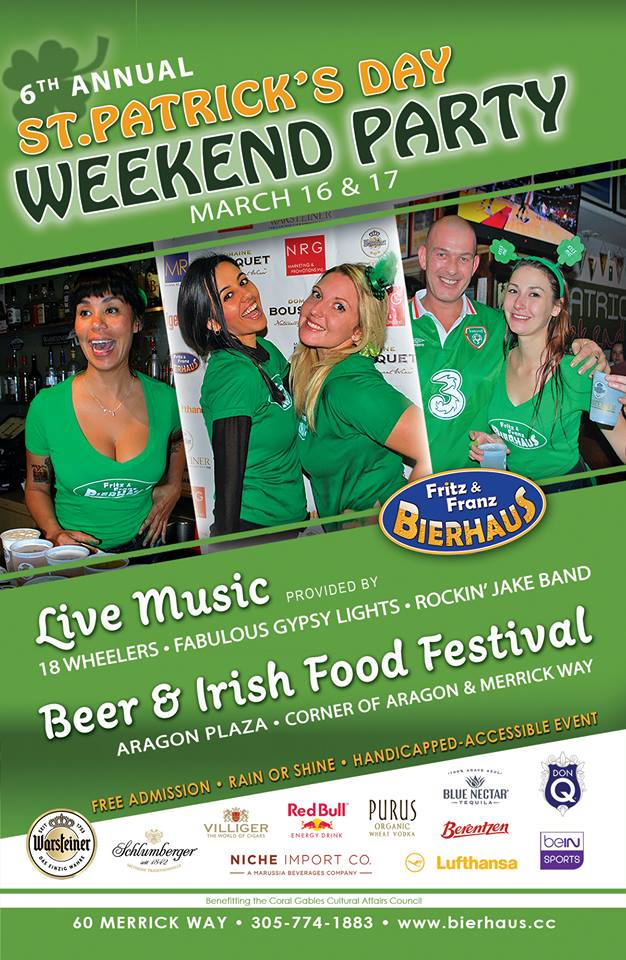 6th Annual St. Patrick's Day Party at Fritz & Franz