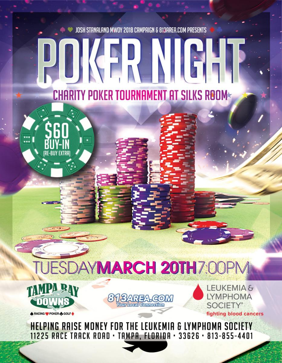 Poker Tournament Benefiting LLS at Silks Poker Room
