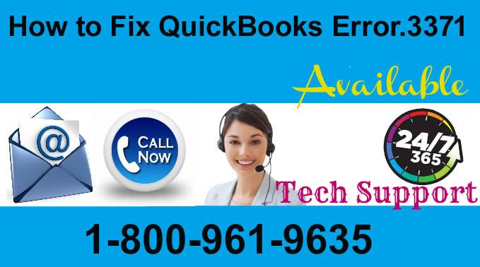 Call Now 1800 961 9635 How To Fix QuickBooks Error 3371 in Windows XP ?