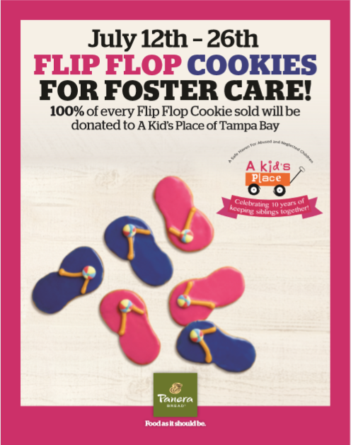 Flip Flop Cookies For Foster Care!