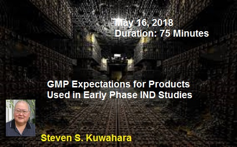 Expectations for Products Used in Early Phase