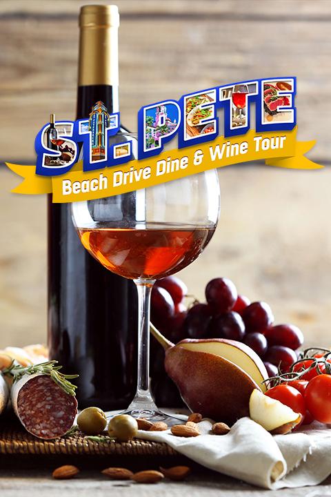 St. Pete Beach Drive Dine & Wine Tour