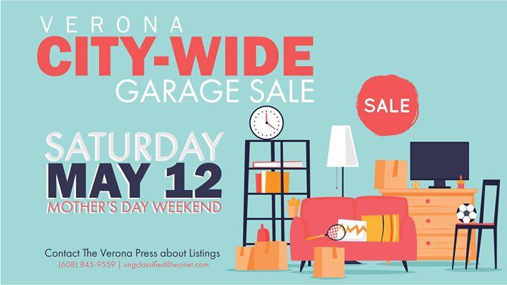 Verona City Wide Garage Sale, Madison WI - May 12, 2018 - 8