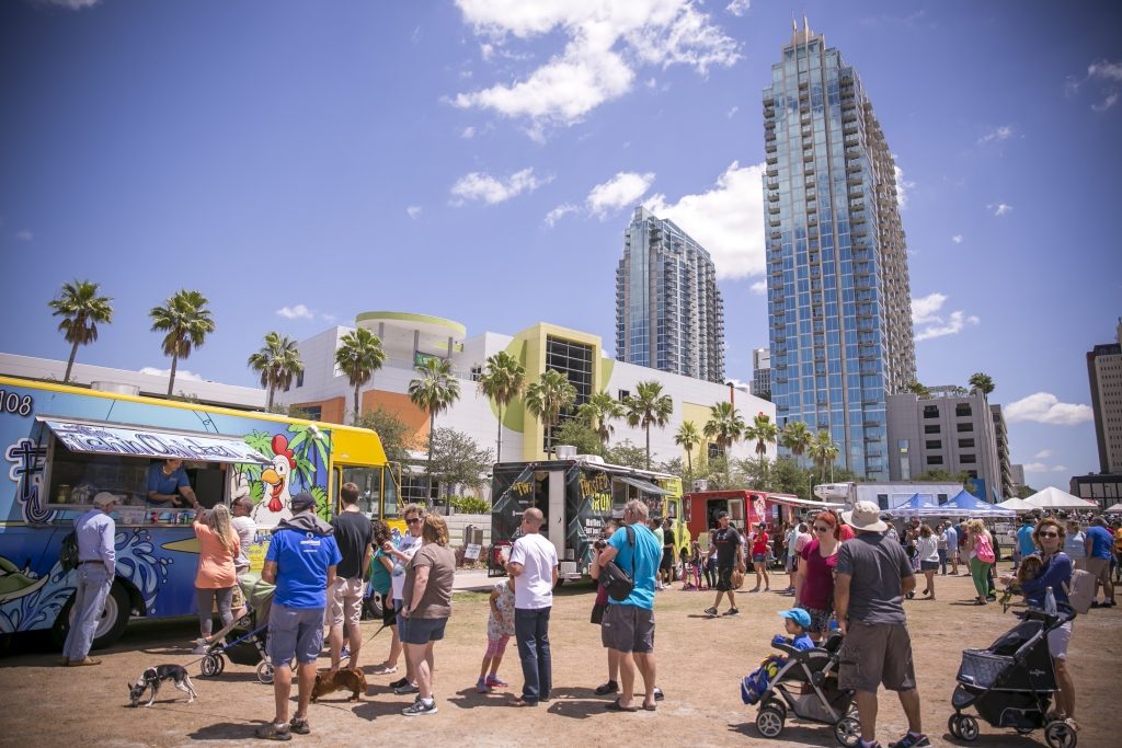 Taste of the Riverwalk at Tampa Riverfest 2018