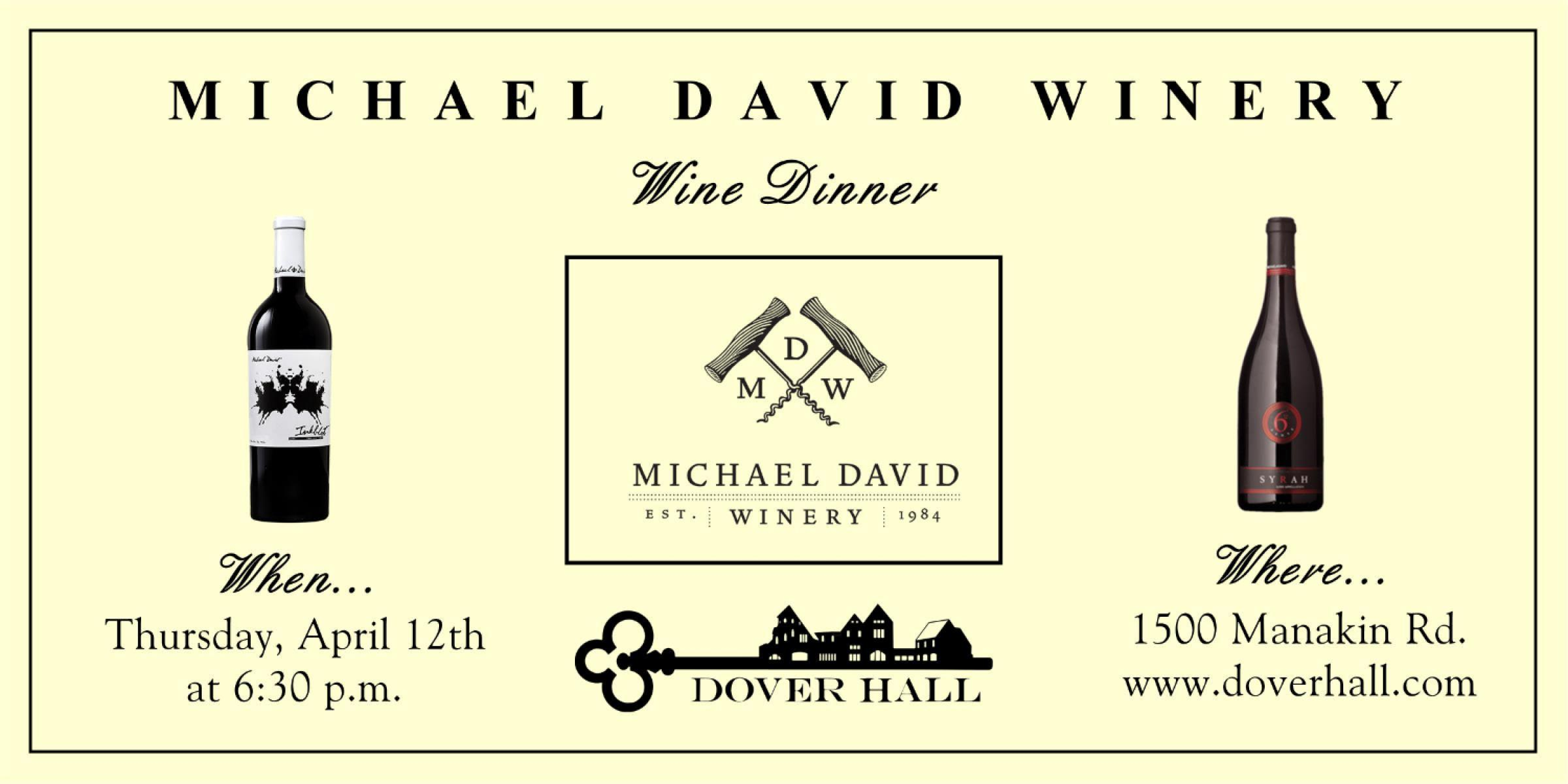 Michael David Winery Wine Dinner