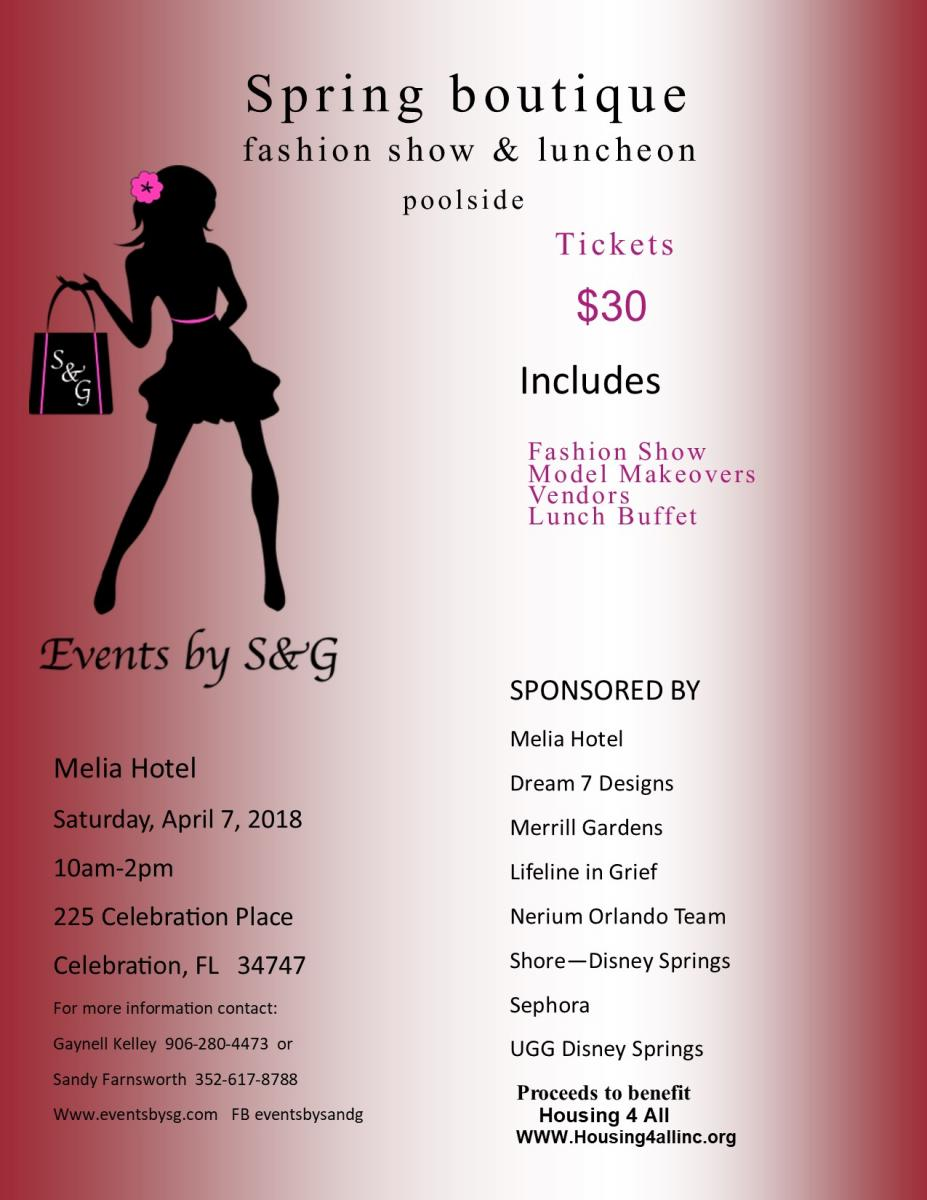 Melia Spring Fashion Show and Luncheon