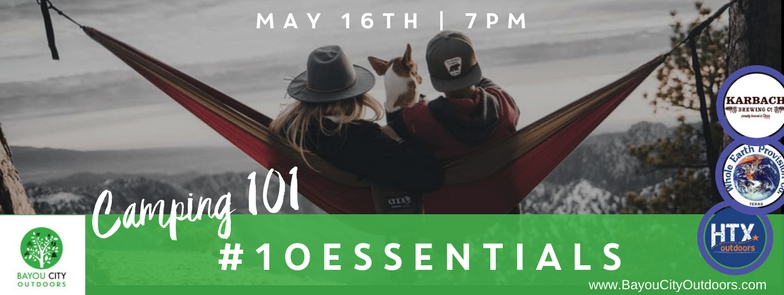 HOU LIVE - BCO & HTXO Present: Camping 101