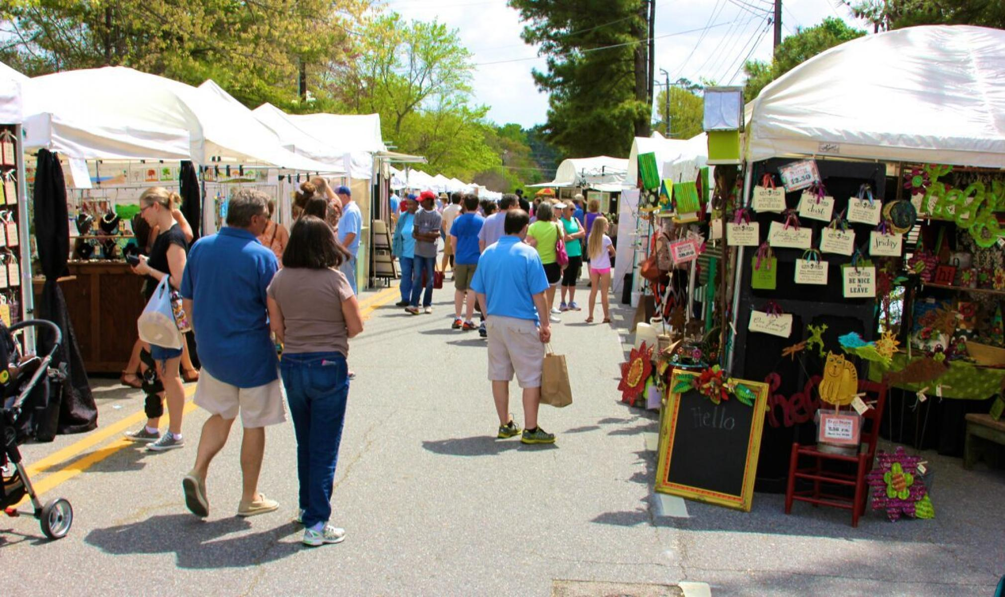 The Seventh Annual Sandy Springs Artsapalooza