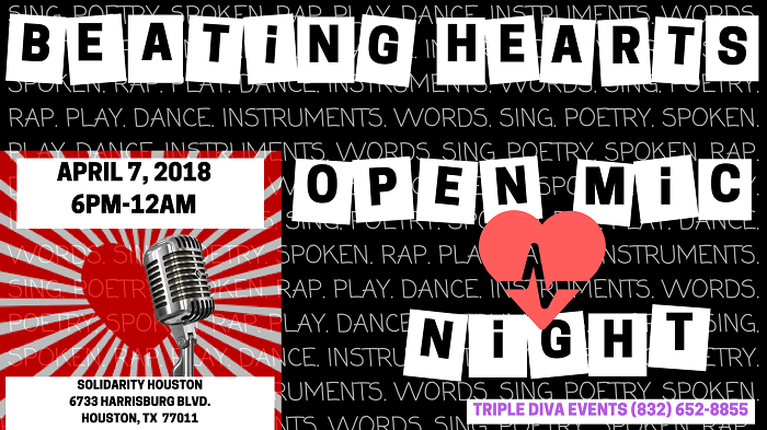 Beating Hearts Open Mic Night