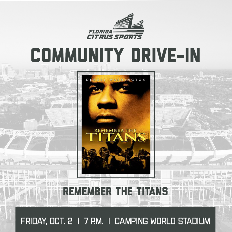Community Drive-In: Remember the Titans