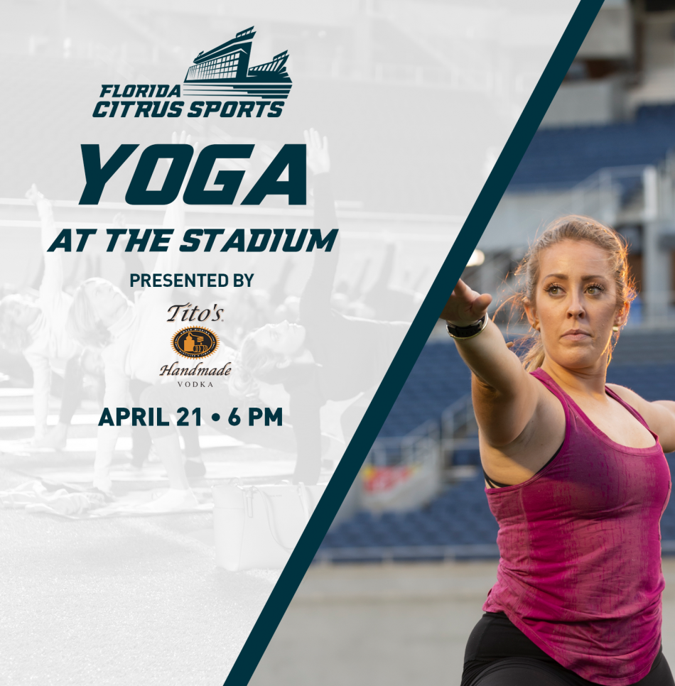 Yoga at the Stadium presented by Tito's Handmade Vodka