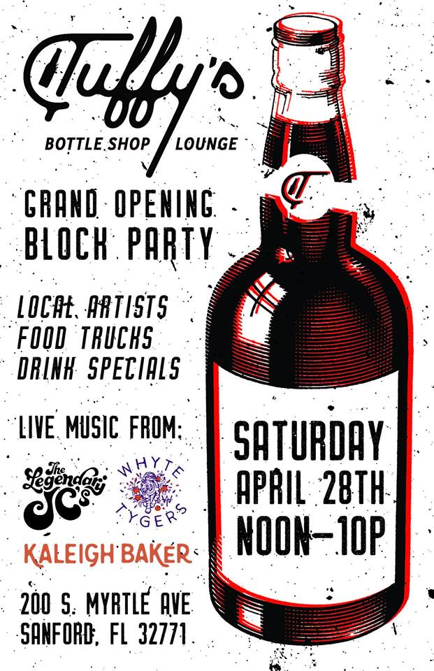 Tuffy's Grand Opening Block Party