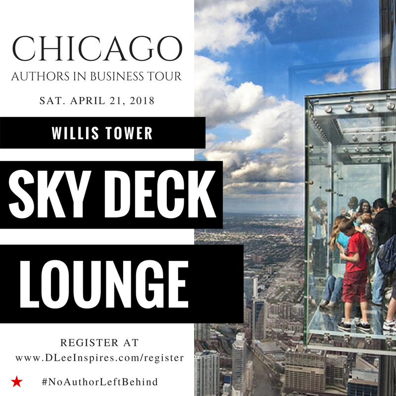 Authors Meet Up at Skydeck Willis Tower