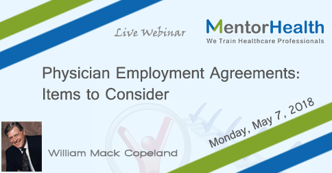 Physician Employment Agreements Items To Consider New York City Ny