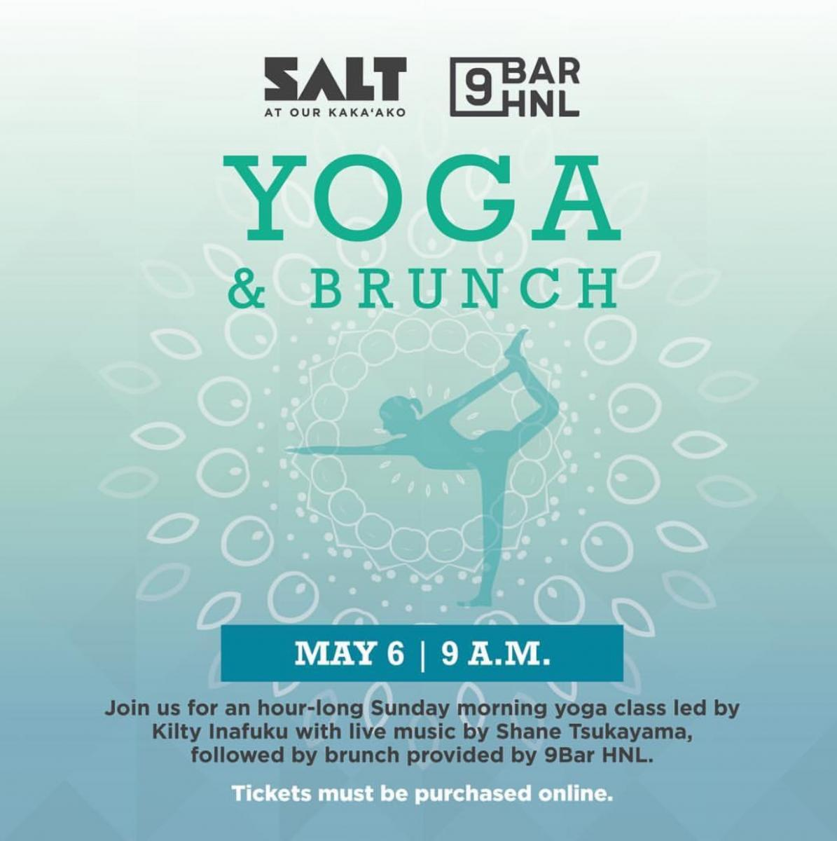 Yoga & Brunch at SALT at Our Kakaʻako