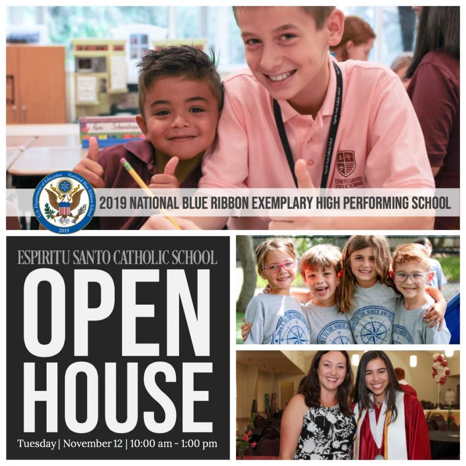 Espiritu Santo Open House For Prospective Students