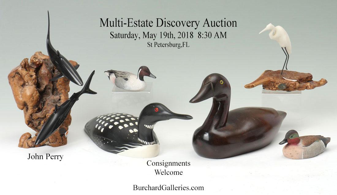 Estate Antiques Fine Art & Jewelry Auction
