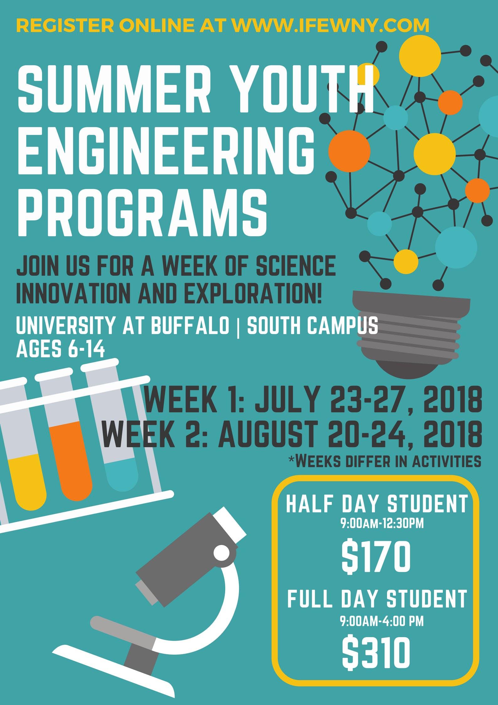 Youth Engineering Summer Program Buffalo Ny Aug 20