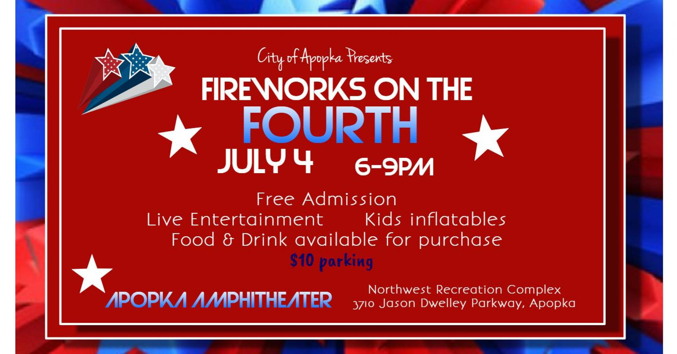 Fireworks on the Fourth! July 4th Celebration in Apopka, Orlando FL ...