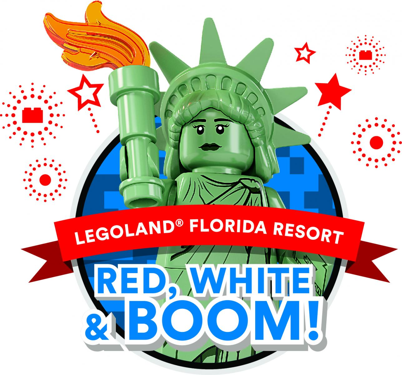 LEGOLAND Red, White & Boom