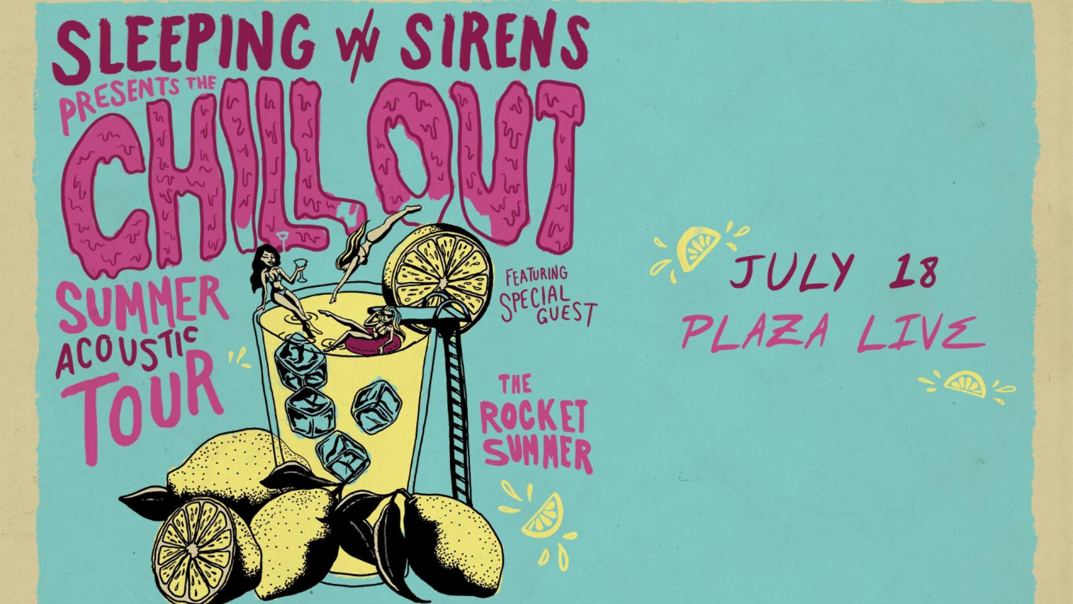 Sleeping With Sirens: Chill Out Summer Acoustic Tour / Orlando ...