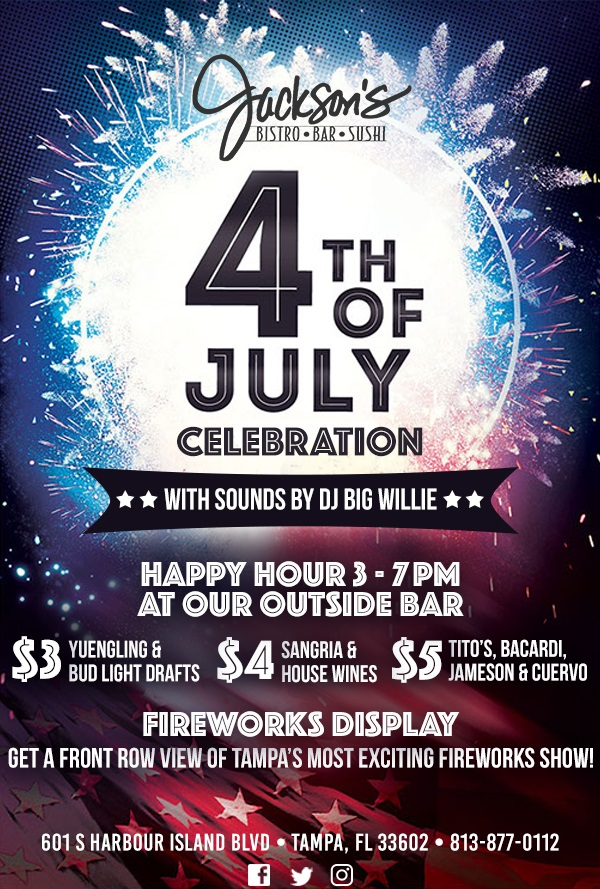Jackson's Bistro 4th of July Celebration