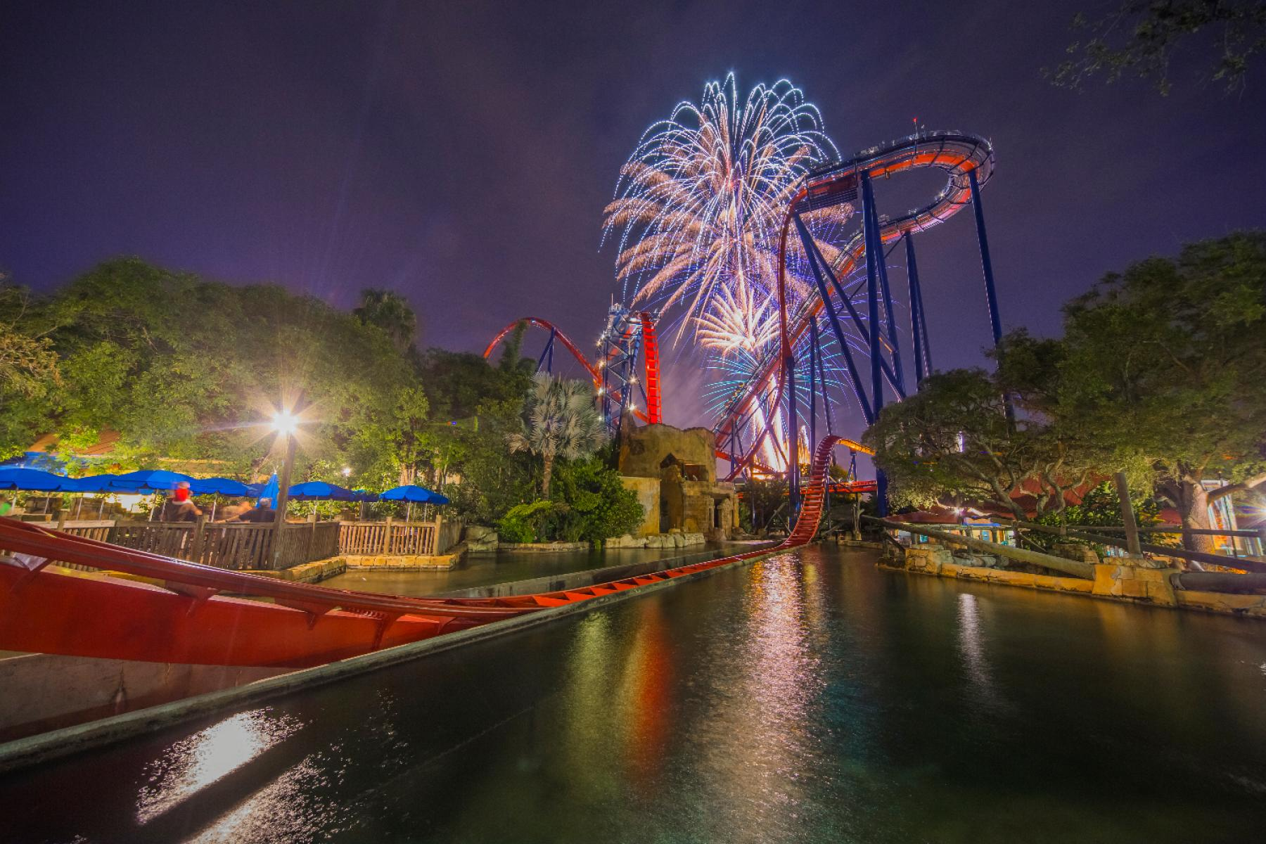 Independence Day at Busch Gardens, Tampa FL - Jul 4, 2018 - 10:00 AM
