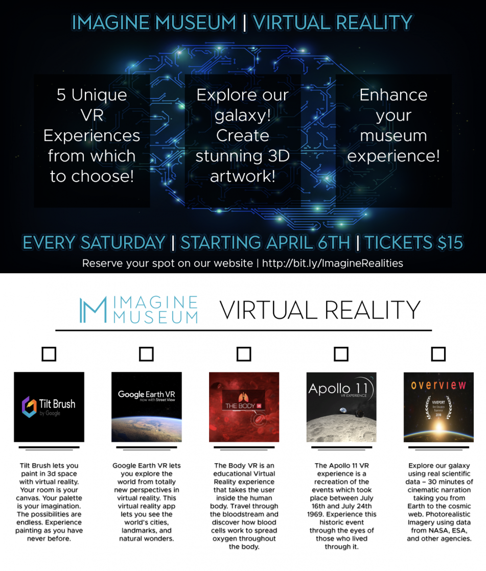 Imagined Realities - Virtual Reality Experience