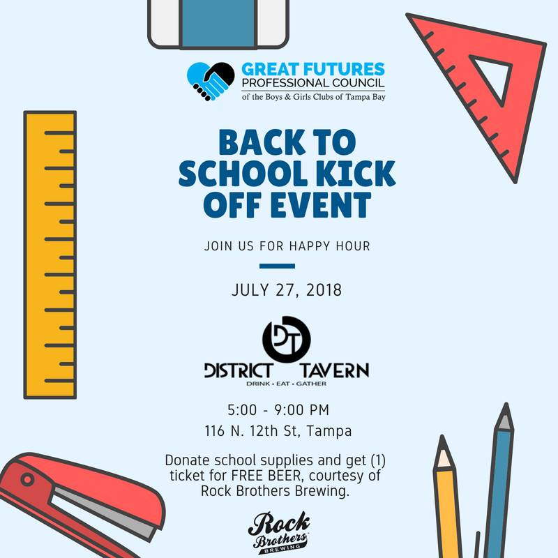 2018 Back to School Supply Drive, Tampa FL - Jul 27, 2018