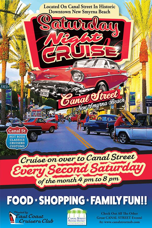 Canal Street Classic Cruise Car Show Daytona Beach FL Sep - East coast car shows