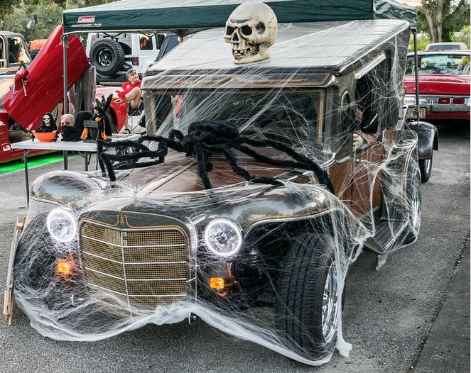 Old Town Kissimmee Halloween 2020 Wednesday Night Car Show   Halloween Spooktacular Car Show