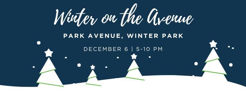 Winter On The Avenue Orlando Fl Dec 6 2019 5 00 Pm