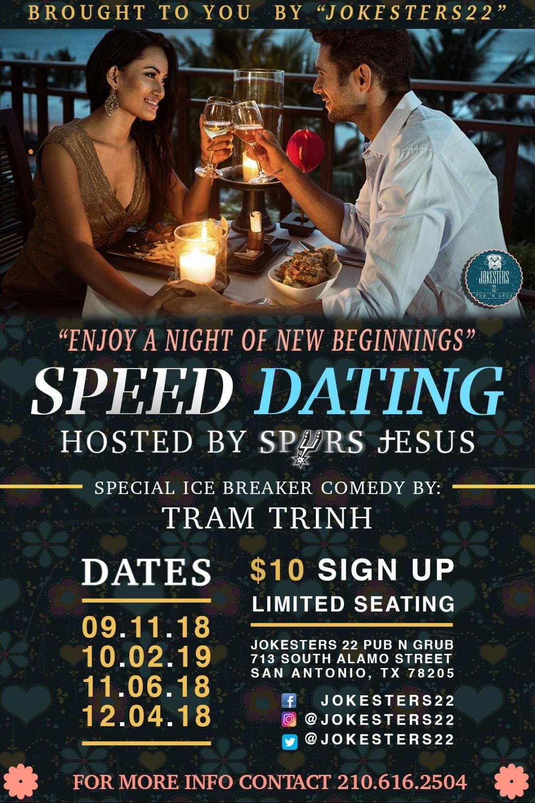 Speed Dating à San Antonio prendre des photos de profil de rencontre