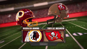Tampa Bay Buccaneers Vs Washington Redskins Tampa Fl Nov 11 2018 1 00 Pm