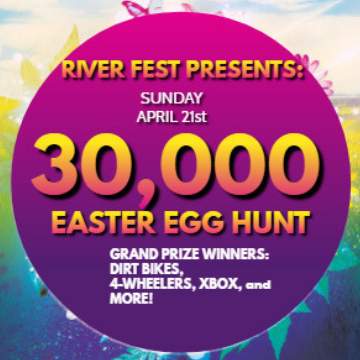 Florida's #1 Easter Egg Hunt - Free Dirt Bikes & 4 Wheelers - - 30,000 Eggs to Hunt