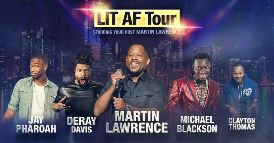 martin lawrence tour 2020