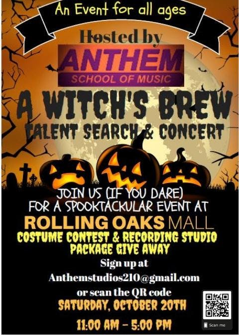A Witch's Brew, Talent Search & Concert!, San Antonio TX