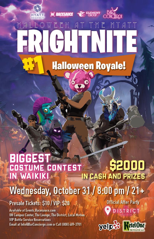 Halloween At The Hyatt 2020 Frightnight HALLOWEEN AT THE HYATT PRESENTS 'FRIGHTNITE: HALLOWEEN BATTLE