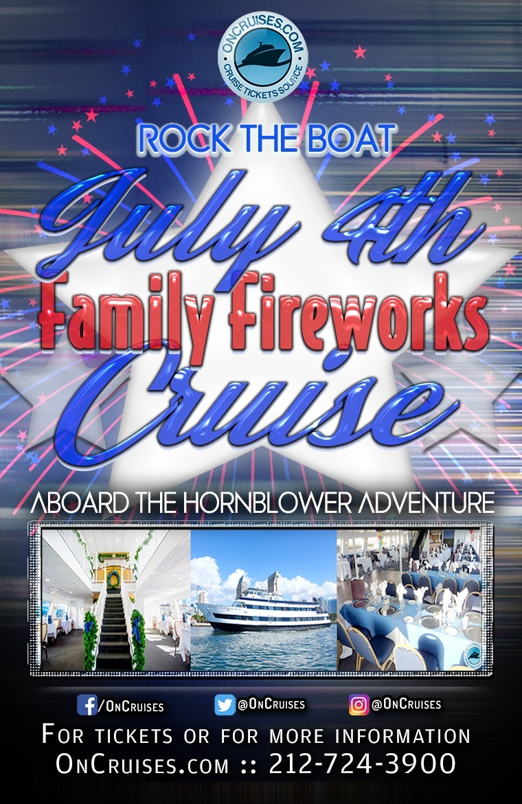 Rock the Boat July 4th Family Fireworks Cruise Aboard the Hornblower Adventure