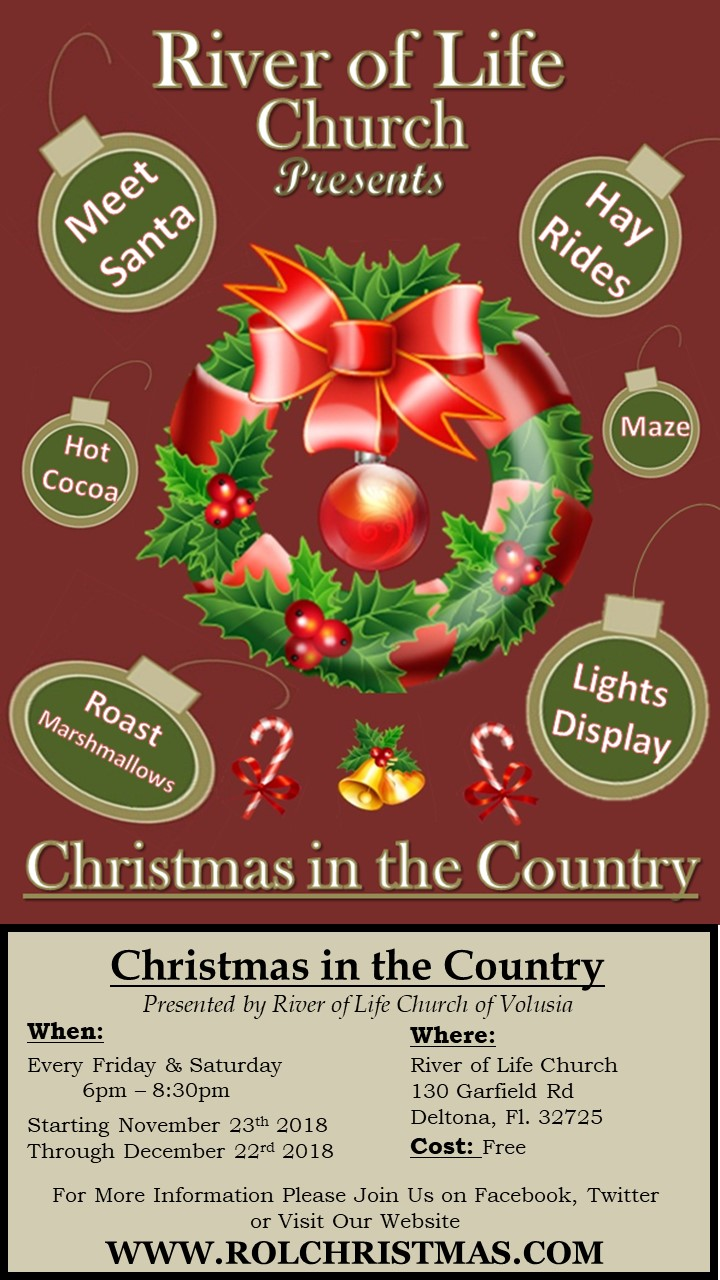 Christmas in the Country - Lights Display, Hay Ride & Festival
