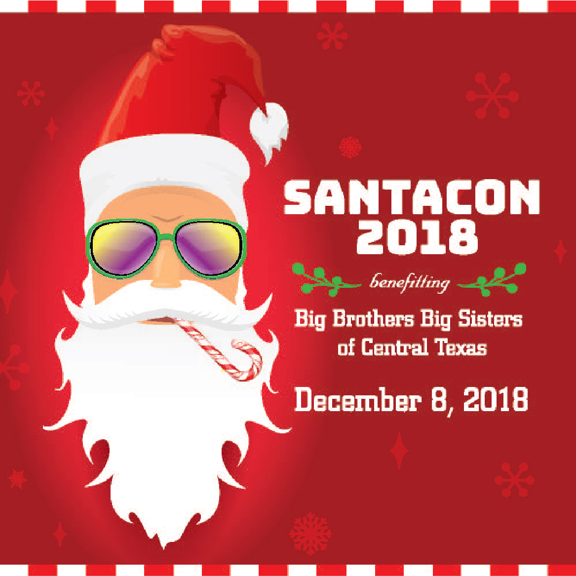 SantaCon 2018 - Benefitting Big Brothers Big Sisters of Central Texas
