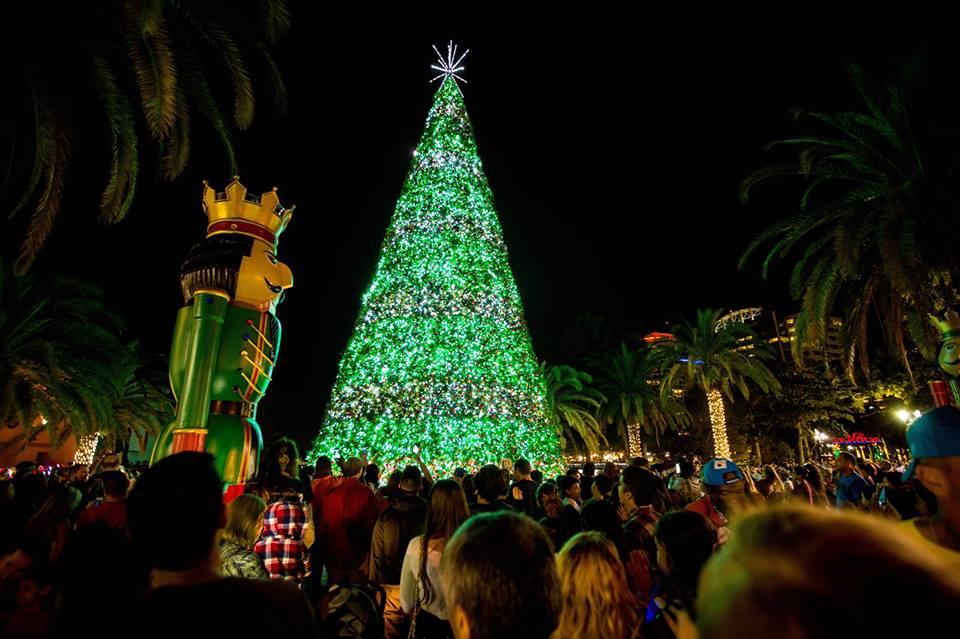 Christmas At Lake Eola Annual Tree Lighting Celebration