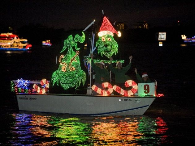 33rd Annual Sarasota Holiday Boat Parade Of Lights